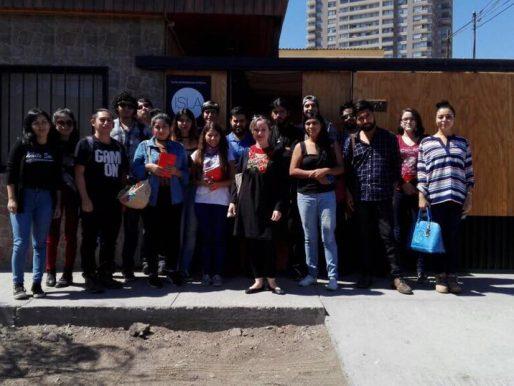 ESTUDIANTES DE PERIODISMO DE LA UCN CONECTAN EL CAMPO DE LA COMUNICACIÓN Y EL ARTE CONTEMPORÁNEO