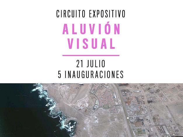 ALUVIÓN VISUAL: EL 21 DE JULIO SACO6 INAUGURA 5 EXPOSICIONES EN ANTOFAGASTA