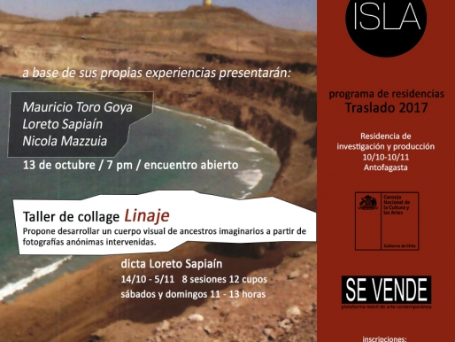 RESIDENTES PROGRAMA TRASLADO EN ISLA: MAURICIO TORO-GOYA, LORETO SAPIAÍN Y NICOLA MAZZUIA