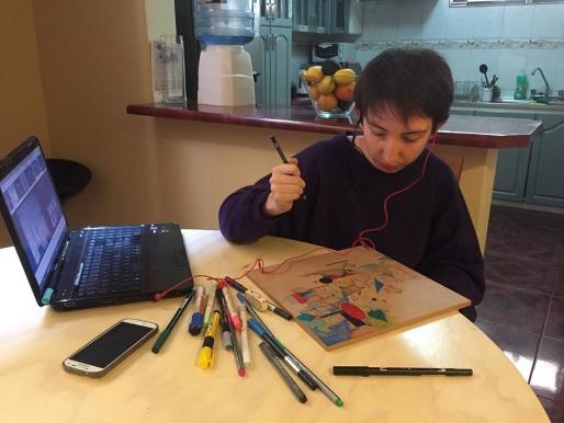 RESIDENCIA DE JOSEFINA MELLADO EN ANTOFAGASTA: LAS INMEDIACIONES DE LA ABSTRACCIÓN