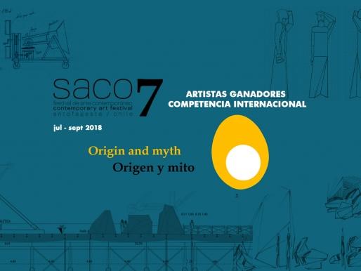 RESULTADO DE ARTISTAS GANADORES PARA LA CONVOCATORIA INTERNACIONAL DE SACO7 ORIGEN Y MITO