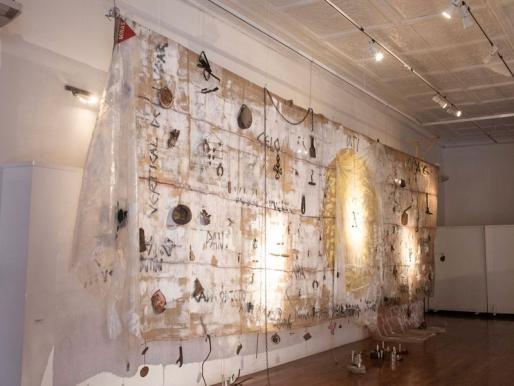 Inauguración del circuito expositivo museo sin museo en el Festival de Arte Contemporáneo SACO7