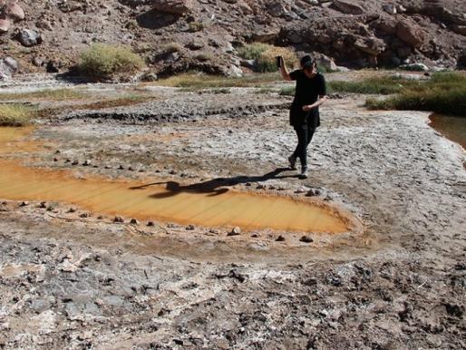 La tensión del territorio como leitmotiv de creación:  Desiertos Intervenidos II