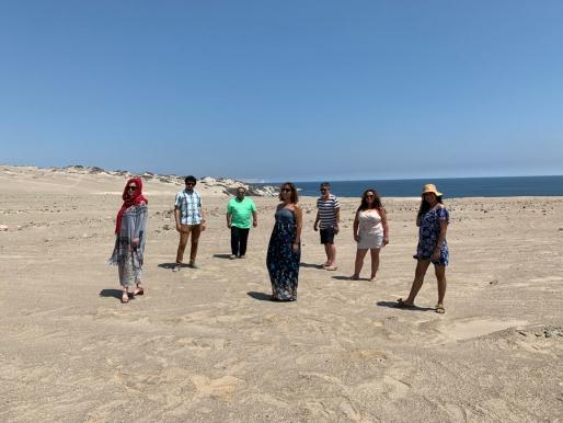 Un equipo con miras a la primera Bienal de Arte Contemporáneo en el norte de Chile