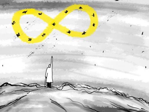Spot Destino, ilustración a cargo de Andre Salva