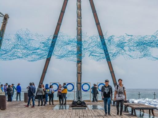 """""""Topografía de un futuro incierto"""": Elevar la conciencia sobre el cambio climático"""
