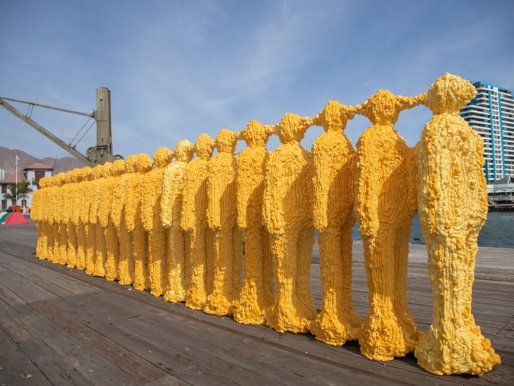 """""""Self Monument / Contrail"""": autorretrato escultórico en la era de la repetición"""