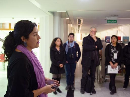 """[ENTREVISTA] Loreto González, curadora de SACO8: """"Trabajamos con personas que día a día, luchan por el territorio desde la resistencia"""""""