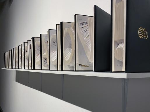 Acaymo S. Cuesta y el arte como herramienta que denuncia el fraude del poder político y económico