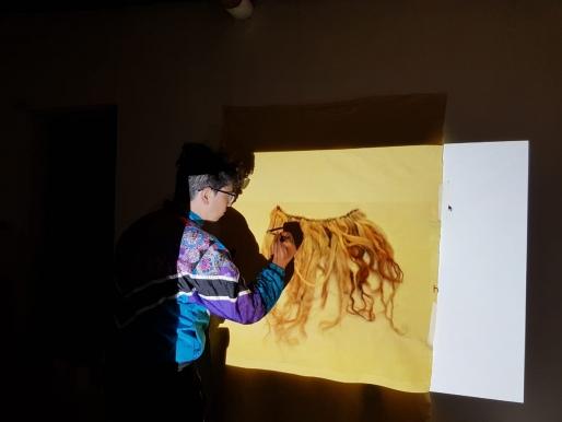 Sebastián Riffo: una máquina de coser para conectar la materialidad, las culturas ancestrales y el territorio